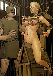 You don't want to live with a swollen cunt - The punishment of Priscilla by Ted Owen