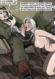 He'll hang you by the balls - SS prison hell is back! Part 2! by Gary Roberts