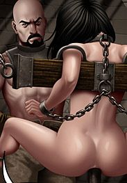 Ferres - Masque 2 returns - give the rope a nice tug and you'll see her eyes pop out