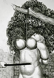 The latest girl was gurgling and screaming - BDSM pics by Badia