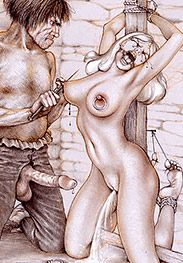 A ringed nip is an obedient nip - Sold as slaves by Tim Richards