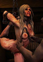 The destruction of her spirit was complete - Conquered part 2 The warrior by Quoom