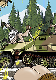 I know of this little French spy - SS prison hell is back! Part 2! by Gary Roberts
